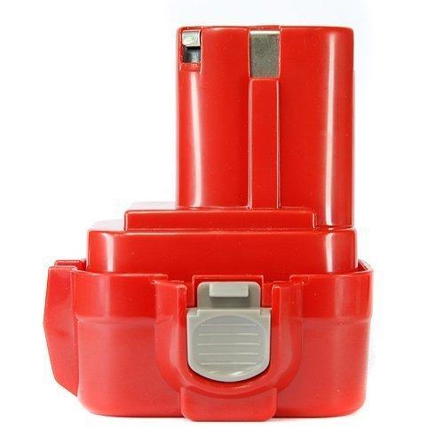Batería para herramientas Batería 9.6V 1.5Ah 1500mAh Ni-MH para atornillador Makita Broca sustituye 9120/9122/PA09/192595-8, 192596-6, 192638-6, 193977-7/193979-3/638344-4de 2