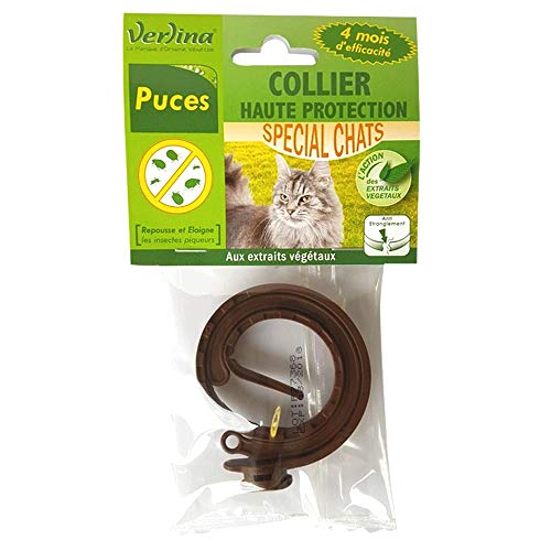 Verlina Repellent Halsband für Katzen Chip