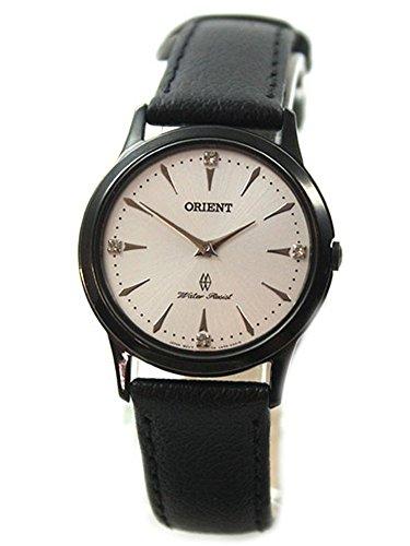 Orient–Reloj de pulsera analógico para mujer cuarzo piel fua06002W0