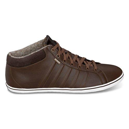 K-Swiss  Hof IV MID VNZ,  Sneaker a collo alto uomo, Marrone (cowboy/espresso/white), 39.5