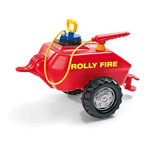 Rolly Toys 122967 - rollyVacumax Fire (für Kinder von 3 bis 10 Jahren, Fassanhänger, Pumpe mit Spritze, Befüllung max. 15 Liter)