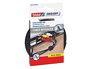 Cinta para agrupar cables tesa On & Off (5 m x 10 mm), color negro (B001JYP0IS) | Amazon price tracker / tracking, Amazon price history charts, Amazon price watches, Amazon price drop alerts