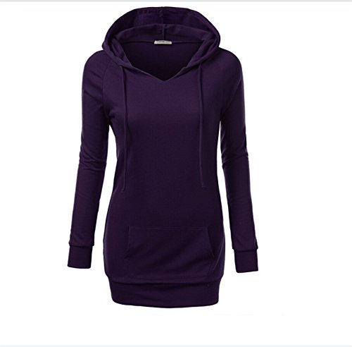 YL - Sweat-shirt - Femme Lilas