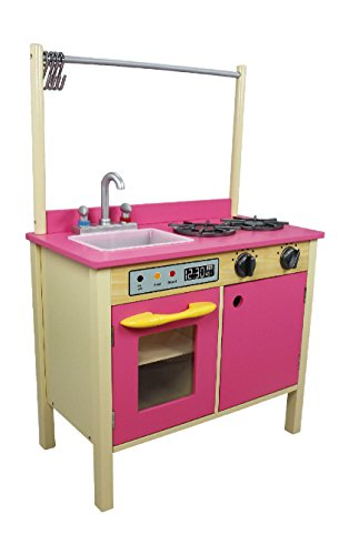 Teamson kids w-11411p kitchen, rosa bubblegum
