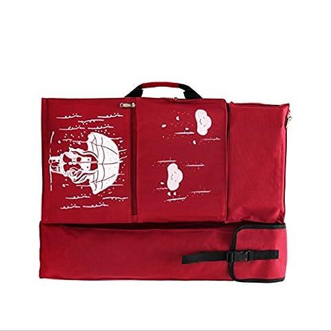 PAINTING Board Tasche, hulisen 4K Wasserdicht Künstler Gemälde Art Portfolio Tote und Rucksack Tasche für Zeichnen Skizzieren