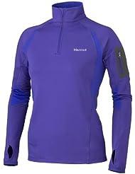 Marmot Damen Funktionsshirt Helix 1/2 Zip Long Sleeve