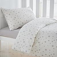 Silentnight Safe Nights Alphabet Cot Bed Duvet Cover and Pillowcase Set