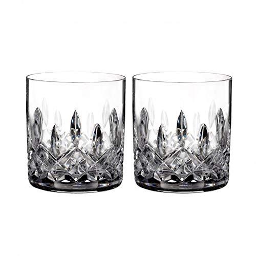 Designer Waterford Crystal (Waterford 40003430 Lismore Gläser, gerade, Bleikristall, ca. 200 ml, 2 Stück)