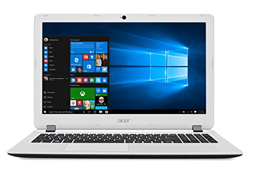 Acer Aspire ES1-524-99JP Notebook, Display da 15.6' HD LED, Processore AMD Dual-Core A9-9410, RAM da 12 GB DDR3, 1000 GB HDD, Scheda Grafica Integrata AMD Radeon R5, Bianco