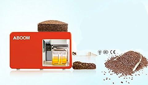 aboom Gesundheit Öl Kälte Maschine Presse-für die Samen Flachs-, Shea, Raps, Tee-Samen, Sonnenblumenkerne, für tun der Öl Frisch für die kochen