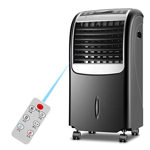 7 Liter-tank-system (FAN AIR Conditioning Tragbarer Luftkühler mit Fernbedienung und LED-Anzeige, 3 Lüftergeschwindigkeiten mit Oszillationsfunktion, 15-Stunden-Timer und 8-Liter-Wassertank)