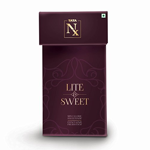 Tata Nx Lite And Sweet Box- Low Calorie Stevia Sweetener (200 gms)  available at amazon for Rs.175