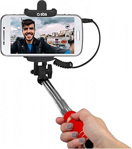 Sbs teselfishaftminir smartphone rosso bastone per selfie