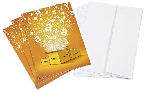Amazon.de Grußkarte mit Geschenkgutschein - 3 Karten zu je 20 EUR (Alle Anlässe)
