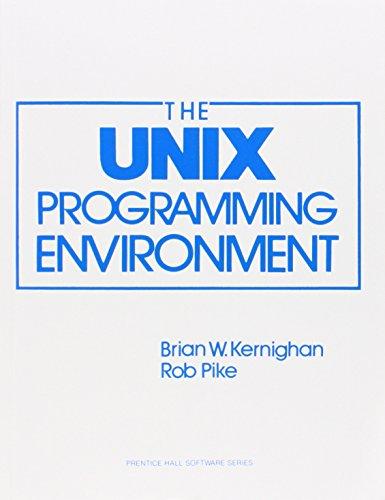 Unix Programming Environment (Prentice-Hall Software Series)