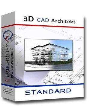 3D CAD Architekt Standard - Hausplanung Software/Programm von ConCadus