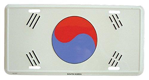 Preisvergleich Produktbild Doktor Hardstuff Blechschild Süd Korea - 30cm x 15cm