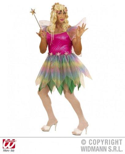 Widmann wdm5705a–Kostüm für Erwachsene Fee der Regenbogen, mehrfarbig, -