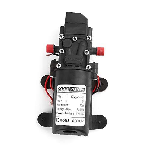 HJHm 12V 72W Hochdruck-Mikromembran-Wasserpumpe-Automatikschalter Intelligenter Typ -