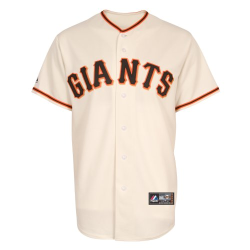 MLB Baseball Trikot/Jersey SAN FRANCISCO GIANTS creme in S (SMALL)