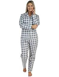 PajamaMania Women's Sleepwear Cotton Flannel Long Sleeve Pyjama Set
