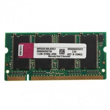 Souked 512 MB DDR-333 PC2700 ( SODIMM ) Speicher RAM KIT 200 - Pin für Laptop