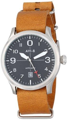 AVI-8 AV-4021-01 - Orologio da polso da uomo, colore: Marrone