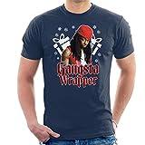 Photo de Coto7 Gangsta Wrapper Lil Wayne Christmas Men's T-Shirt par Coto7