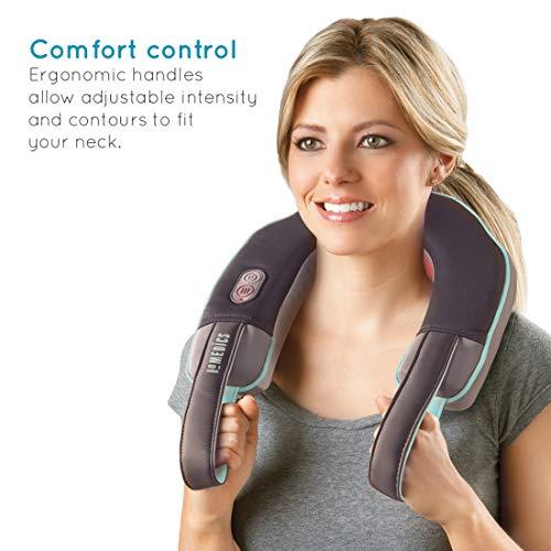 HoMedics NMSQ-215A-EU Masajeador de cuello vibración/calor