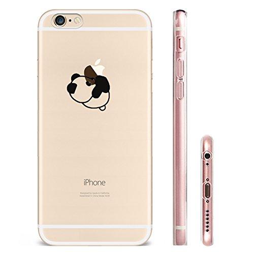 IPHONE 5C Hülle Flamingos Katze Giraffe Weich Silikon TPU Schutzhülle Ultradünnen Case für iPhone 5C Schutz Hülle Panda 2