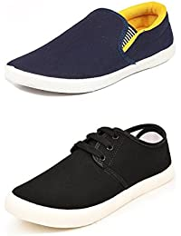 CAIRÖ Stylish Casual Shoes For Men (Combo Pack Of 2 Moccasins)