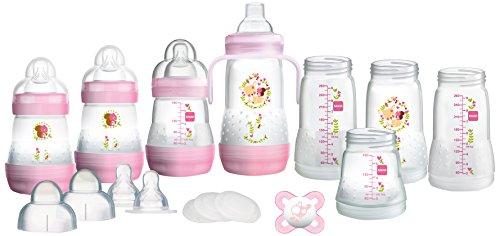 MAM Easy Start, selbststerilisierend, Anti-Kolik Starter Set, Klein, - Kolik Babyflaschen Anti