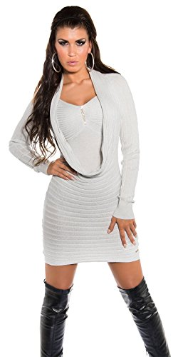 KouCla - Pull - Femme Taille unique Silber