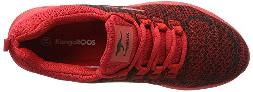 KangaROOS Treca Ii, chaussons d'intérieur mixte adulte Rot (flame red)