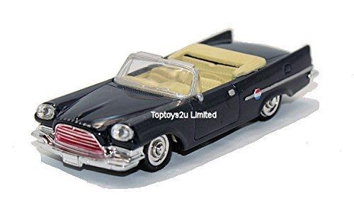 newray-143-diecast-chrysler-300-e-convertible-1959-blue-all-american-city-cruiser-collection