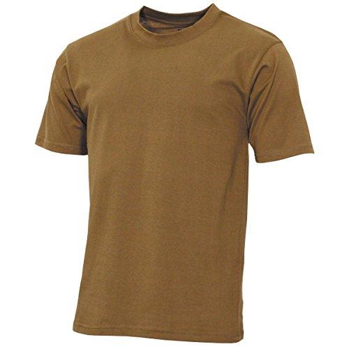 MFH US T-Shirt, Streetstyle, Coyote tan, 140-145 g/m² - M