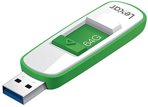 Lexar JumpDrive S75 USB 3.0 64GB Pen Drive (White & Green)
