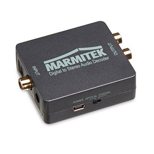 Marmitek Connect DA51 - Audio Konverter, Digital to Stereo, PCM, Dolby Digital 5.1 und DTS ES6.1
