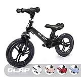 KORIMEFA Bicicleta de Equilibrio sin Pedales para Niños de Aleación de Magnesio Bicicleta Infantil para Andar Niños y Niñas de 18 Meses a 5 años (Negro)