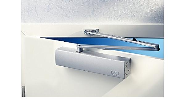 GEZE TS 5000 R Türschließer inkl komplettem Montagezubehör 116300 Farbe silber