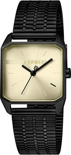 Esprit Damen Analog Quarz Uhr mit Edelstahl Armband ES1L071M0045