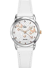 Go Girl Only Damen-Armbanduhr 698699–Armbanduhr 1076312Analog Leder Grau