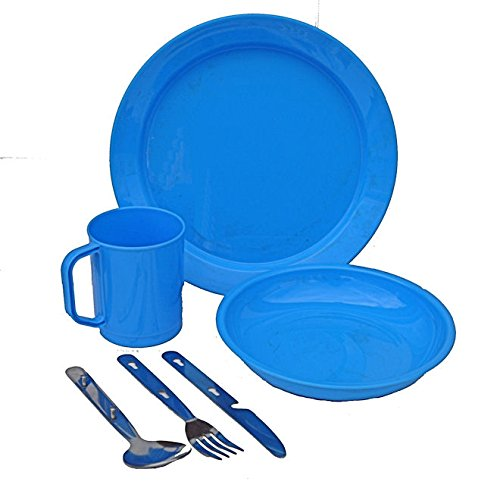 1-person-camping-picnic-dining-set-plate-mug-bowl-and-cutlery-blue-plastic