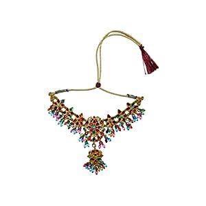 Bollywood Set Anushka bunt Multicolor mit Bangles und Bindis indisches Schmuck Set Accessoire