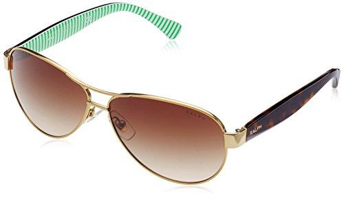 Ralph Lauren Purple Label Damen RA4096 101/13 Sonnenbrille, Gold), One size (Herstellergröße: 59)