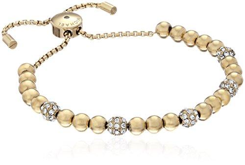 Michael Kors Blush Rush Bead Armreif Armband, gold, Einheitsgröße
