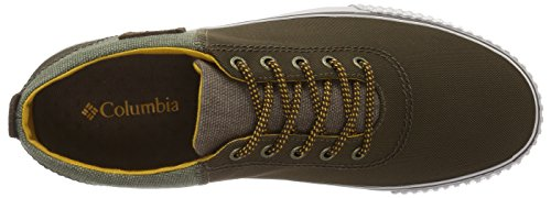 Columbia Vulc N Trail Lace, Chaussures Multisport Outdoor Homme Marron (Dark Brown/golden Yellow 202)