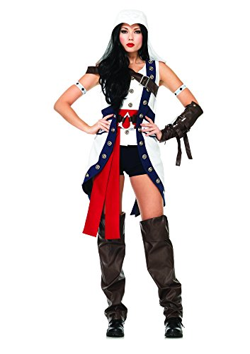 Leg Avenue Assassin's Creed Connor Womens Costume (Assassins Kostüm Connor Creed)