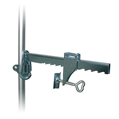 Trixie 4412 Abrazadera de barra 195mm Aluminio abrazadera - Abrazaderas (Abrazadera de barra, 19,5 cm, Aluminio, Aluminio)