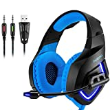 Gaming Headset, 3,5 mm Stereo Camouflage Gaming Kopfhörer Mit Noise Cancelling Mic Für Xbox S PC...